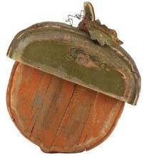 "Wooden Acorn 16"" Tall"