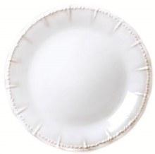 Historia Paper White Dinner Plate