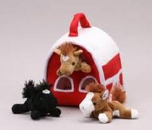 Horse House w/ Farm Animals