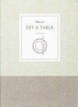 """How to Set a Table"" Book"
