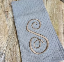 Taupe Waffle Weave Towel S