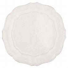 Casafina Dinnerware Impressions White Dinner Plate