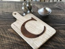 Initial Cutting Board F