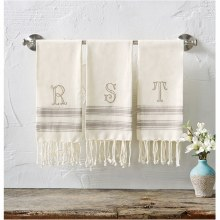 Initial Turkish Towel S