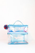 Ice Blue Lunch Box