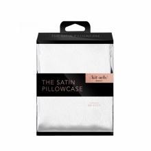 Ivory Satin Pillowcase