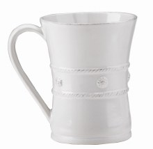 Juliska Dinnerware Berry & Thread White Mug