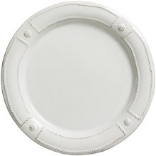 Juliska Dinnerware French Panel White Dinner Plate