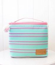 Mint Stripe Lunch Box
