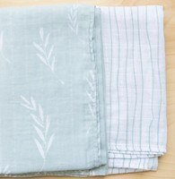 Olive Branch Swaddle 2 Pack