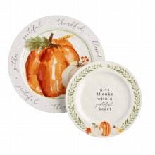 Large Pumpkin Platter