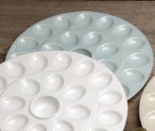 Egg Platter - Robins Egg
