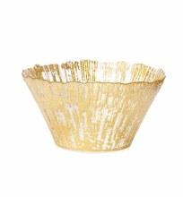 Rufolo Gold Glass Small Deep Bowl