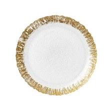 Rufolo Gold Salad Plate
