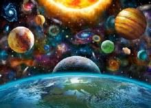 Jigsaw Puzzle Solar System