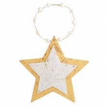 Foil Ornament Star
