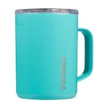 Corkcicle 16oz Mug Turquoise