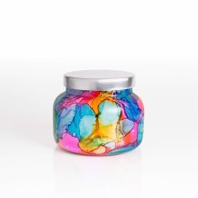 Capri Blue Volcano Jar Rainbow Watercolor