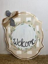 Welcome Door Hanger + Attachment