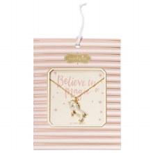 Unicorn Necklace White