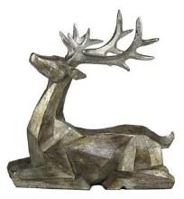 "Deer Figurine 11"""