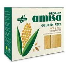 Amisa Org Corn & Rice Crispbread 120g