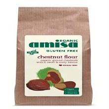 Amisa Gluten Free Org Chestnut Flour 350g