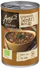Amys Organic Lentil Soup 400g