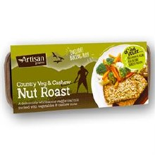 Artisan Grains Nut Roast Country Veg & Cashew 200g