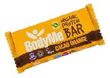 BodyMe Org Protein Bar - Cacao Orange 60g