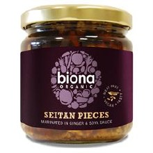 Biona Organic Seitan in Ginger & Soy 350g
