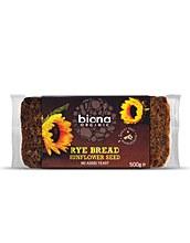 Biona Org Wmeal Rye Sun Seed Bread 500g