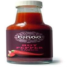 Biona Org Hot Pepper Sauce 140ml