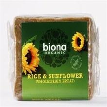 Biona Org Rice Bread Sunflower Seed 500g