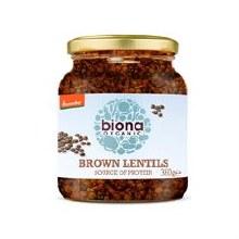 Biona Organic Brown Lentils 360g
