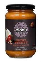 Biona Satay Spicy Peanut Sauce 350g