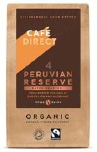 Cafedirect Peruvian Reserve Coffee Beans 227g