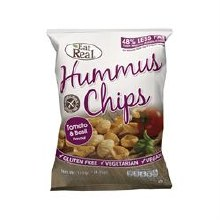Eat Real Eat Real Hummus Chip Tom Basil 135g
