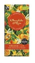 Chocolate and Love Orange 65% 80g