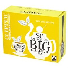 Clipper F/T Big Breakfast Tea 80bag