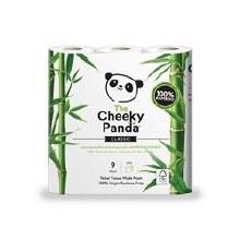 Cheeky Panda Bamboo Toilet Tissue 9pack