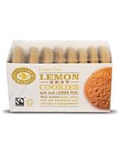 Doves Farm Org Lemon Zest Cookies 150g