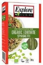 ExploreCuisine Edamame Bean Spaghetti Shape 200g