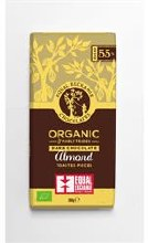 Equal Exchange Org Dark Almond Chocolate 100g