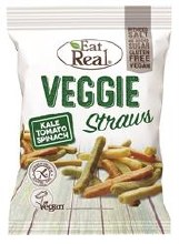 Eat Real Eat Real Veggie & Kale Straws 113g