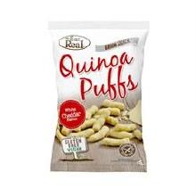 Eat Real Quinoa Puffs Cheese 113g