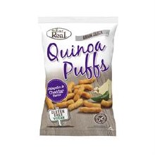 Eat Real Quinoa Jalapeno & Cheddar Puff 113g