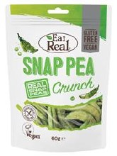 Eat Real Eat Real Snap Pea Crunch 60g