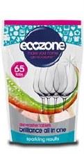 Ecozone Brilliance Dishwasher Tabs 65 tablet