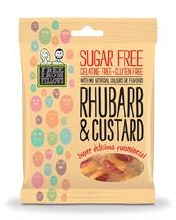 Free From Fellows Rhubarb & Custard 70g